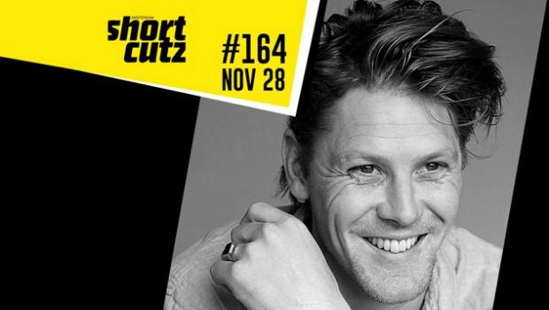 Acteur Gijs Naber te gast bij Shortcutz Amsterdam